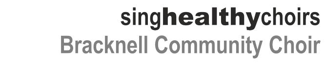 singhealthychoirs - Bracknell Community Choir