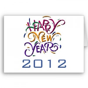 Happy New Year - 2012 Greetings