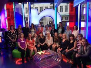 Bracknell Ladies make an appearance on The One Show
