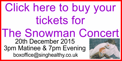 Buy tickets for the snowman concert from http://www.wegottickets.com/location/16695