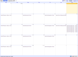 singhealthychoirs events page calendar