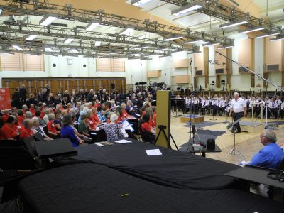 One of the singhealthychoirs groups at rehearsals - this could be you