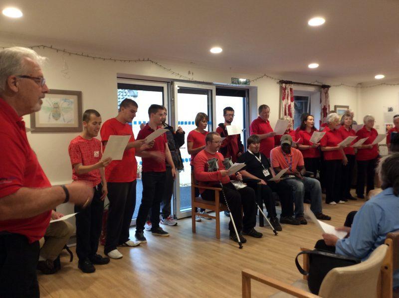 Wokingham singhealthy Choir and CLASP