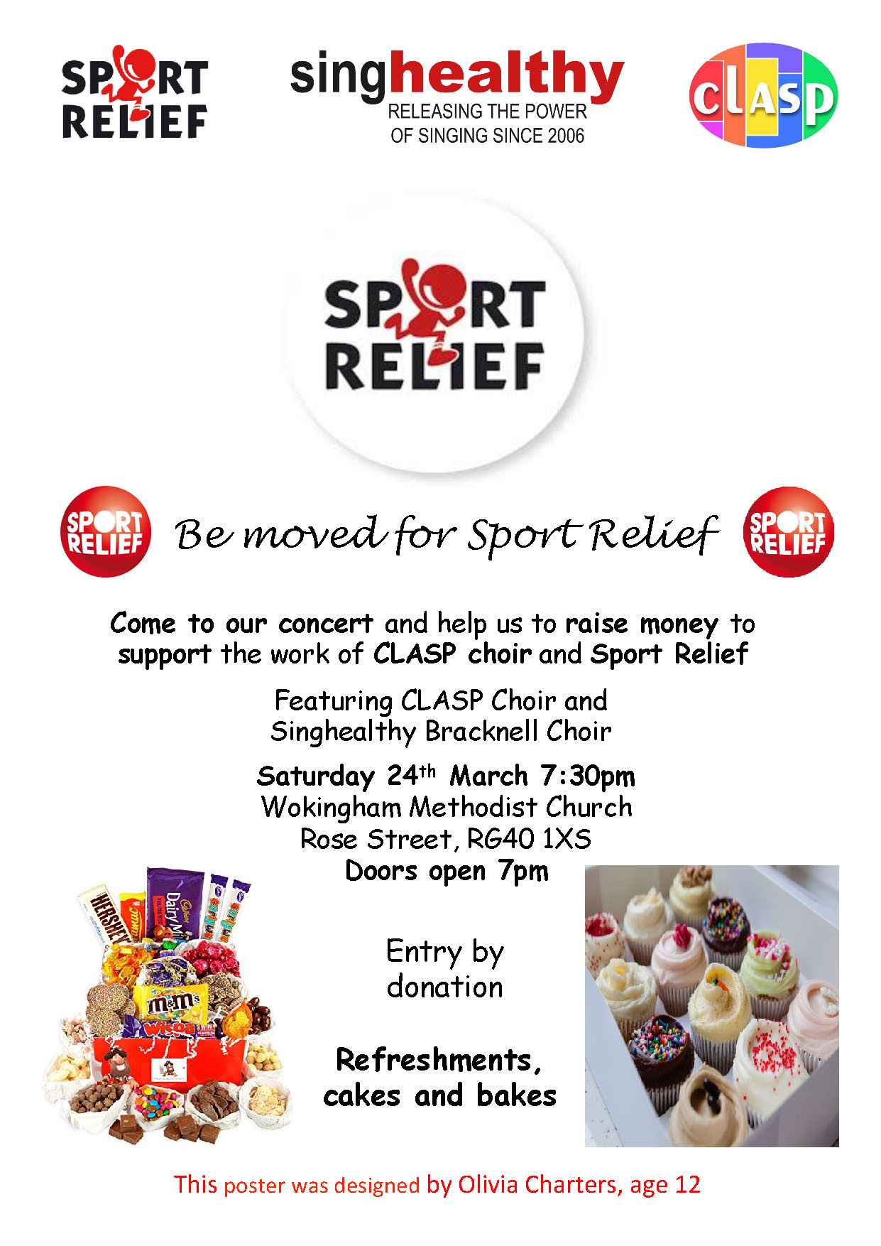 Singhealthy Sport Relief Concert 2018